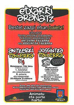 ANTZERKI ETA JOSGINTZA TAILERRAK