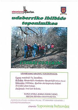 Udaberriko ibilbide toponimikoa