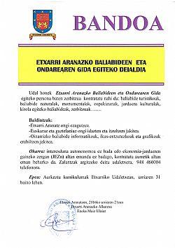BALIABIDEEN GIDA EGITEKO DEIALDIA