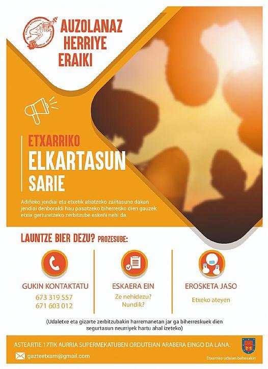 ETXARRIKO ELKARTASUN SARIE